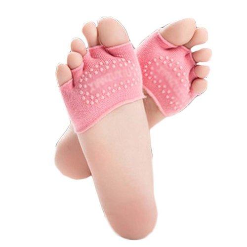 Five-finger Cotton Sports Socks Soft Non-slip New Design Yoga Socks #32