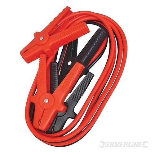 Silverline Jump Leads 600a Max 3.6m - 36m 594260 Car Battery -  jump leads 600a silverline max 36m 594260 car battery