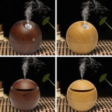 USB Ultrasonic Humidifier Color-changing LED Vaporiser Aromatherapy Essential Oil Diffuser 130ml