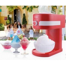 Retro Slushy Maker Machine Kit - Make Slush Snow Cones Slushie Ice Cold Drink