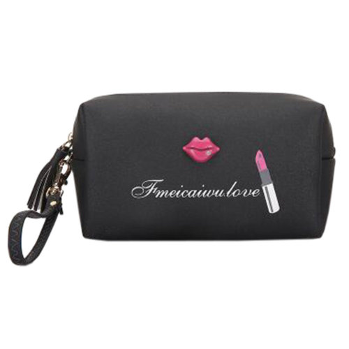 Portable Makeup Storage Bag Waterproof Cosmetic Bag Beauty Case K