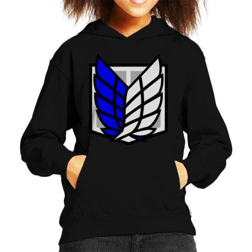 Attack On Titan Recon Corps Kid's Hooded Sweatshirt