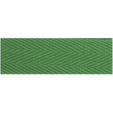 "Products From Abroad 100% Cotton Twill Tape 1.125""X55yd-Green"
