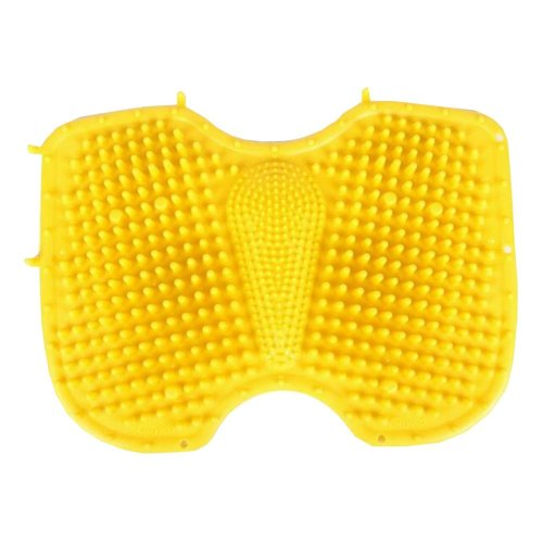 Outdoor & Indoor Foot Massage Shiatsu Sheet Pressure Slab Toe Pad [Yellow]