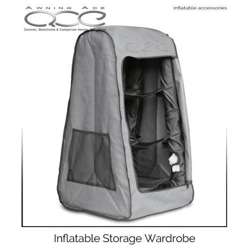 Leisurewize Airdrobe Inflatable Camping Wardrobe Free Pump