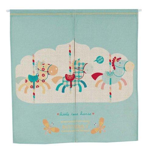 Korea Style 85X90 CM Cotton Feng Shui Half Door Curtain for Bedroom