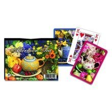 Piatnik Afternoon Tea Deluxe Playing Cards Double Pack