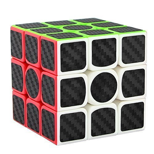 Joview 3x3x3 Speed Cube Carbon Fiber Sticker Smooth Magic Cube Puzzles