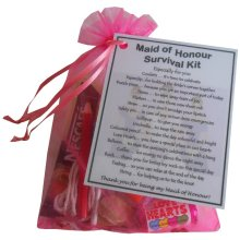 Maid of Honour Survival Kit Gift - A great sentimental gift for your Maid of Honour