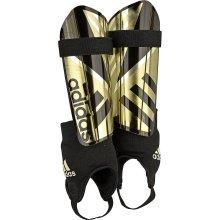 adidas Ghost Reflex Shin Pads Black/Gold Size XL