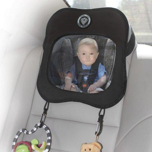 Baby View Mirror Black / Grey