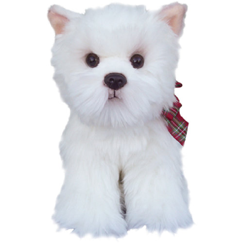 "Toy 12"" West Highland White Terrier"