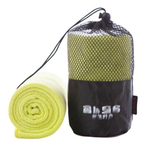 Nano Microfiber Sports Towel Outdoor Fitness Towels-Yellow