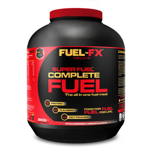Complete Fuel. The All In One Fuel Meal. Strawberries & Cream