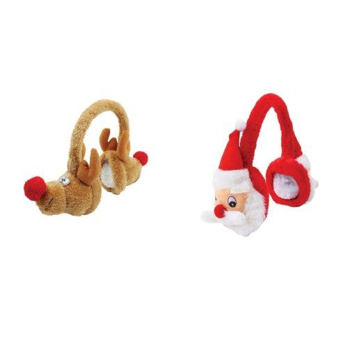 Christmas Shop Plush Character Earmuffs