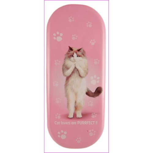 Purrfectly Cat Glasses Case - Yoga Pets