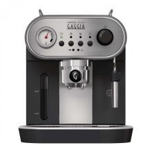 Gaggia Carezza Deluxe | Espresso Coffee Machine - Silver and Black