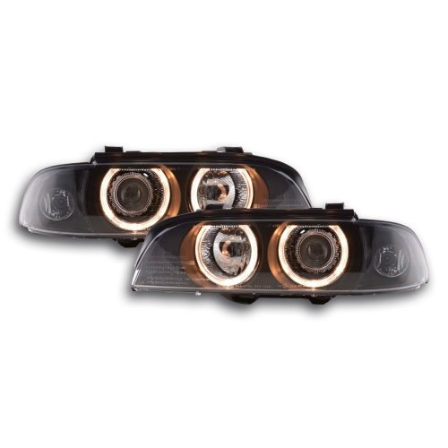 Angel Eye headlight  BMW serie 5 type E39 Year 95-00 black