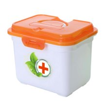 Creative Multi-cell Portable Medicine Kit Travel Medical Box,Orange
