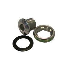 Grey Truvativ Crank Arm Bolt -  truvativ crank arm bolt self alloy extracting gxp silver m15m26