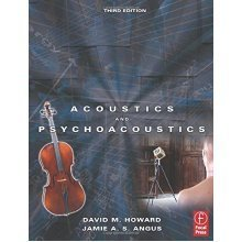 Acoustics and Psychoacoustics (Music Technology)