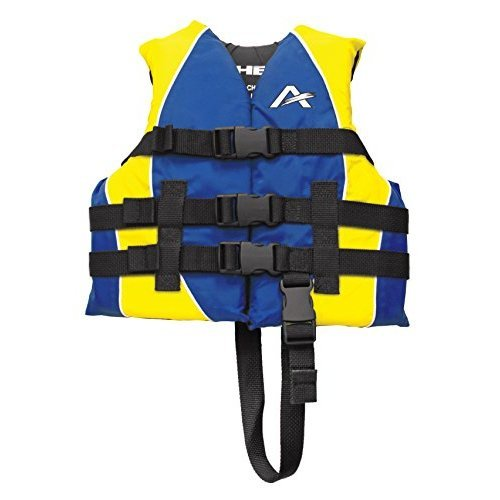 Airhead 10010-02-A-BL Blue Nylon Child Life Vest