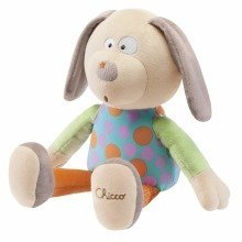Chicco Happy Colours Soft Toy Dog