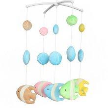 Hanging Toys, Musical Crib Mobile, Soft Plush Toys, [Fish, Marine Life]