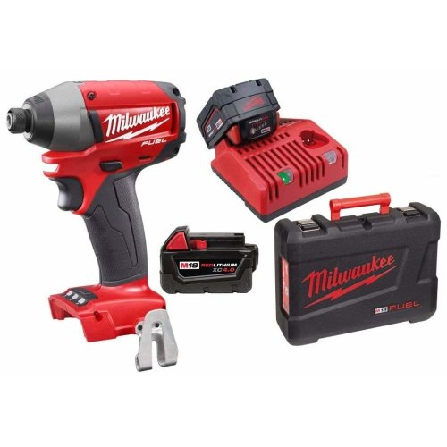 Milwaukee M18 18V Fuel Compact Impact Driver Wrench Screwdriver 4.0Ah