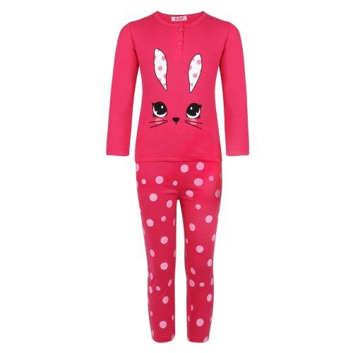 Girls Rabbit Face Pyjama SF-18629 Set