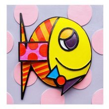 [My Love] 3D Fish Paint-By-Number Kits DIY Painting Crafts for Kids Over 5Y