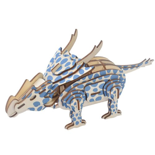3D Puzzle Educational Toys Nice Gift for Kids Dinosaur Series 2 Pcs
