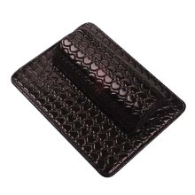 Nail Art Arm Rest Holder PU Leather Soft Hand Cushion Pillow & Pad Rest Black