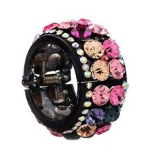 Luxurious Rhinestones Hair Ponytail Clip Ponytail Decor Hair Accessories, No.6