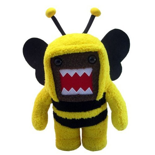 Domo 6 5 Inch Plush Figure Bumblebee Domo