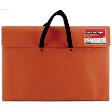 """Red Rope Paper Portfolio-14""""X20""""X2"""""""