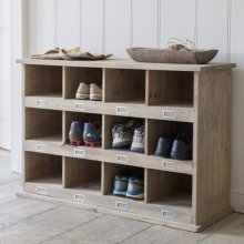 Chedworth Shoe Locker - 12 Cubby Holes