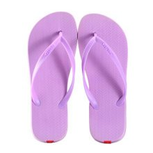 Unisex Casual Flip-flops Beach Slippers Anti-Slip House Slipper Sandals Purple