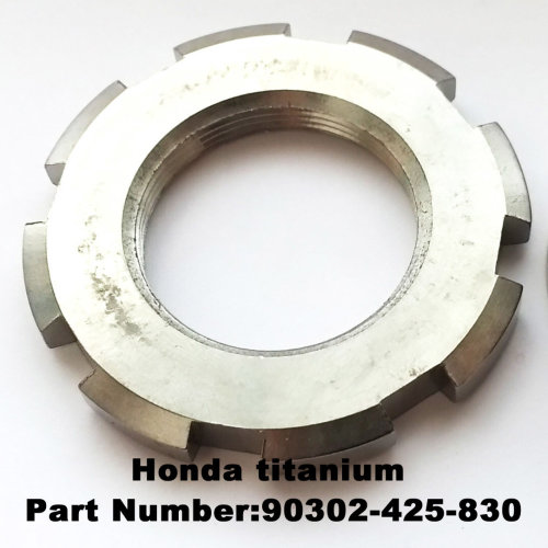Honda TITANIUM version steering washer