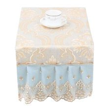 [Lace] Beautiful Microwave Oven Dustproof Cover Dust Cover Cloths