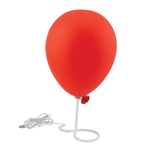 Pennywise Balloon Lamp BDP Home Office Bedroom Bedside Stephen King IT Horror
