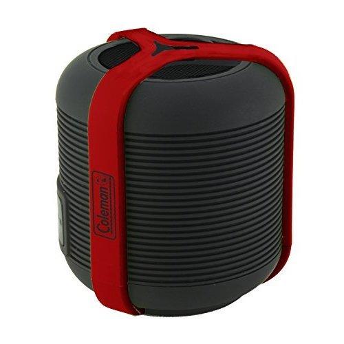 Coleman Aktiv Sounds Waterproof Bluetooth Mini Speaker red pack of 1 Ea