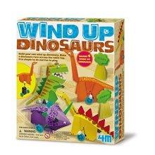 4M Wind-Up Dinosaurs Kit
