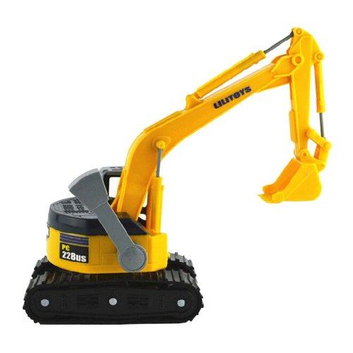 Plastic Excavator Model Toy Toy Vehicles Beach Toy Caterpillar Excavator