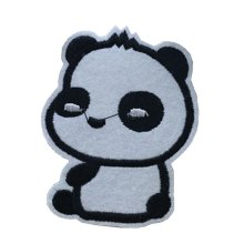 10PCS Embroidered Fabric Patches Sticker Iron Sew On Applique [Panda F]