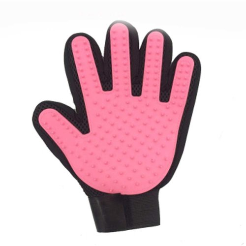 Pet Grooming Glove Hair Remover Brush Gentle Efficient Pet Massage Gloves
