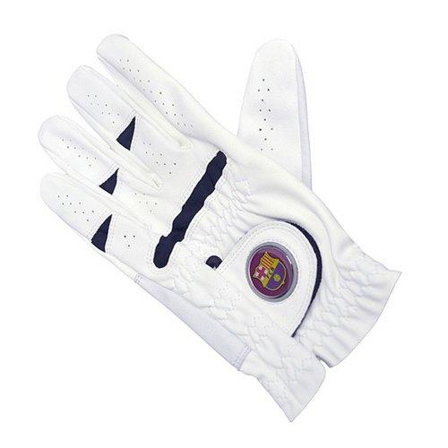 FC Barcelona Official Left Hand Football Crest Golf Glove & Ball Marker