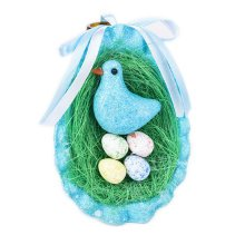 Easter Decoration Children's Party Decorations Easter Eggs Decorations[F]