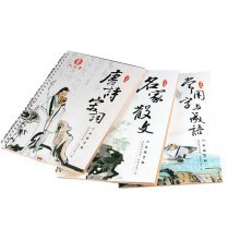 Adult Calligraphy Posts Grooves Running Script Calligraphy Pen Copybook