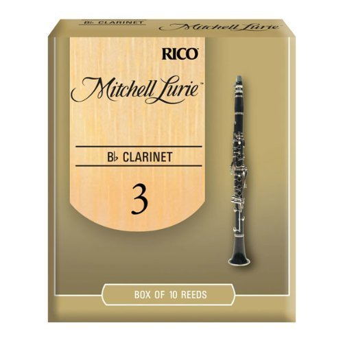 Rico Mitchell Lurie 3.0 Strength Reeds for Bb Clarinet (Pack of 10)